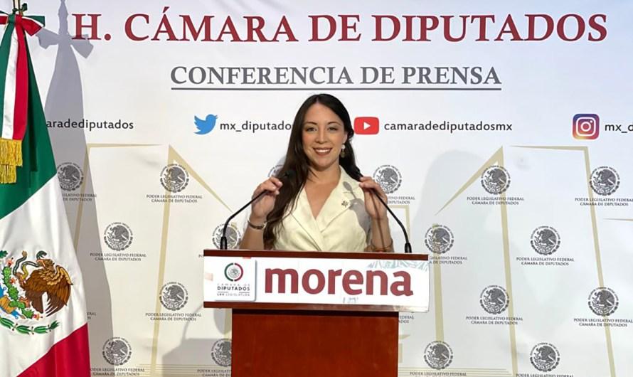 Será Julieta Ramirez Padilla Secretaria de Comisión de Derechos Humanos en Congreso de la Unión