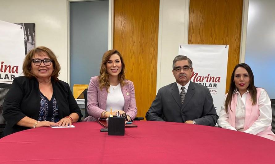 Presenta Marina del Pilar más integrantes de gabinete, vuelve Espinoza Jaramillo a SIDUE