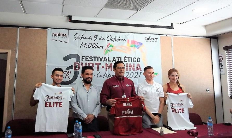 Promueve activación física y práctica deportiva diputado Molina: Invita a festival atlético