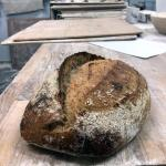 A Tartine Wholemeal Sourdough loaf