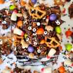 Spooky Snack Mix For Halloween The Bakermama