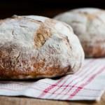 Artisan Bread on Tea Towell