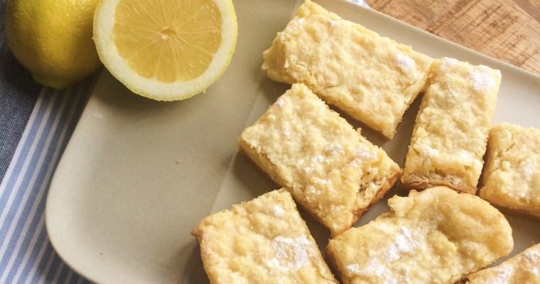 Zomerse lemon cheesecake repen