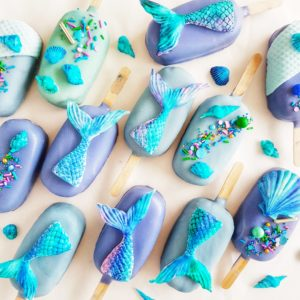 The Baking Experiment Mermaid Cake Pops
