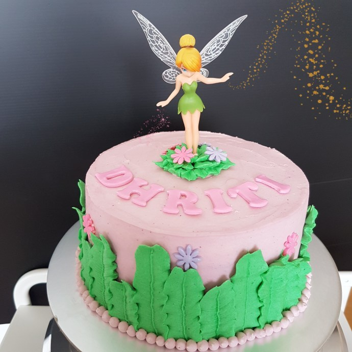 The Baking Experiment Tinkerbell Cake