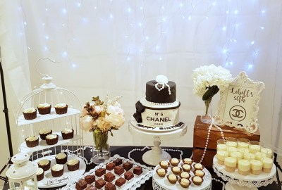 Chanel Theme Dessert Table