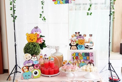 Tsum Tsum Dessert Table by The Baking Experiment