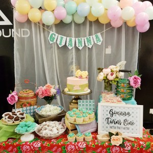 Peranakan Dessert Table by The Baking Experiment