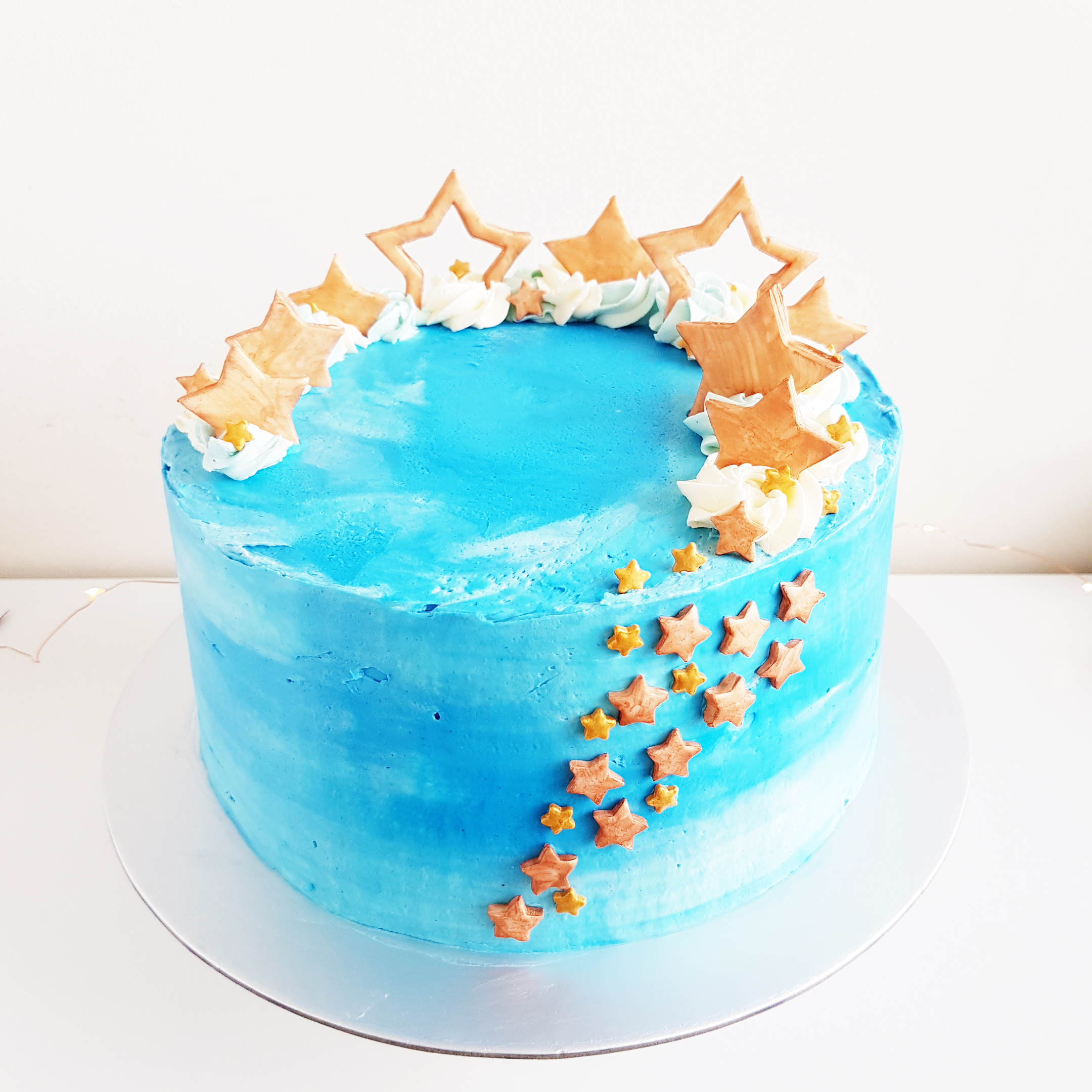 Starry Cake by The Baking Experiment