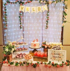 Baby Girl Dessert Table by The Baking Experiment
