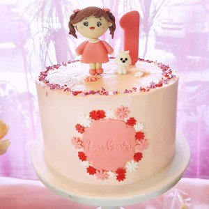 Baby Girl Cake by The Baking Experiment