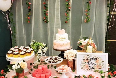 Princess Dessert Table by The Baking Experiment