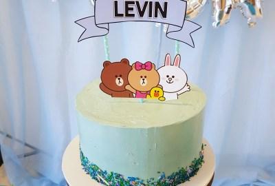 LINE Friends Cake