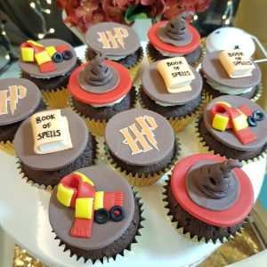 Harry Potter Cupcakes by The Baking Experiment