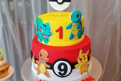 Pokemon Dessert Table by The Baking Experiment