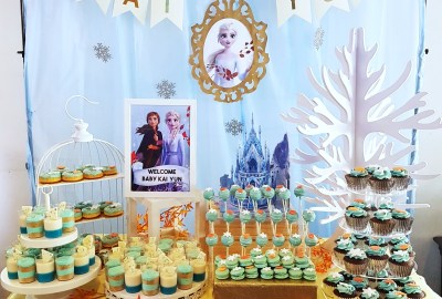 Frozen 2 Dessert Table