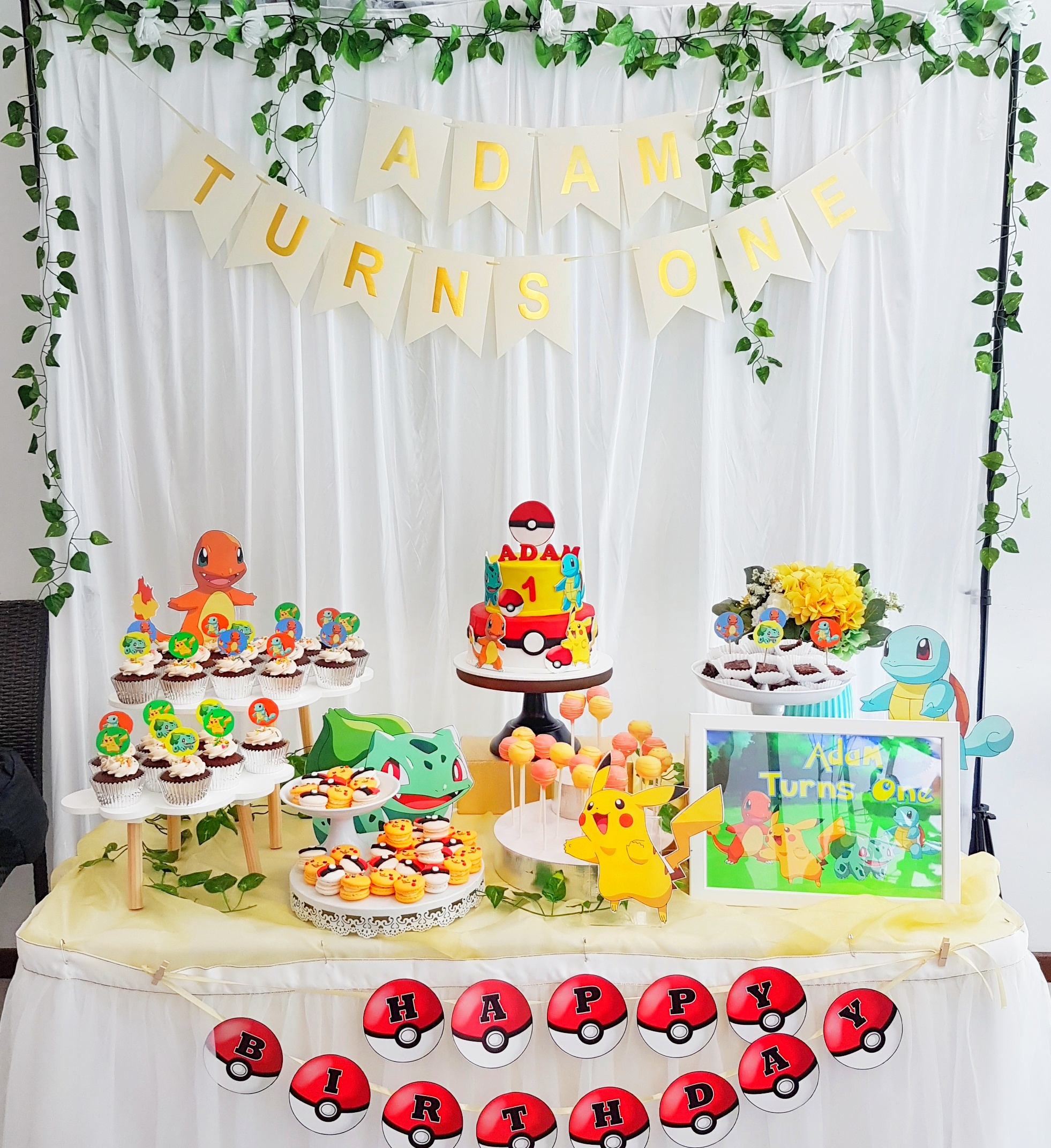 Pokemon Dessert Table