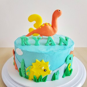 Dinosaur Cake by The Baking Experiment