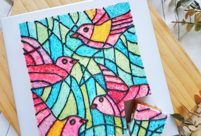 Stained Glass Cake by The Baking Experiment
