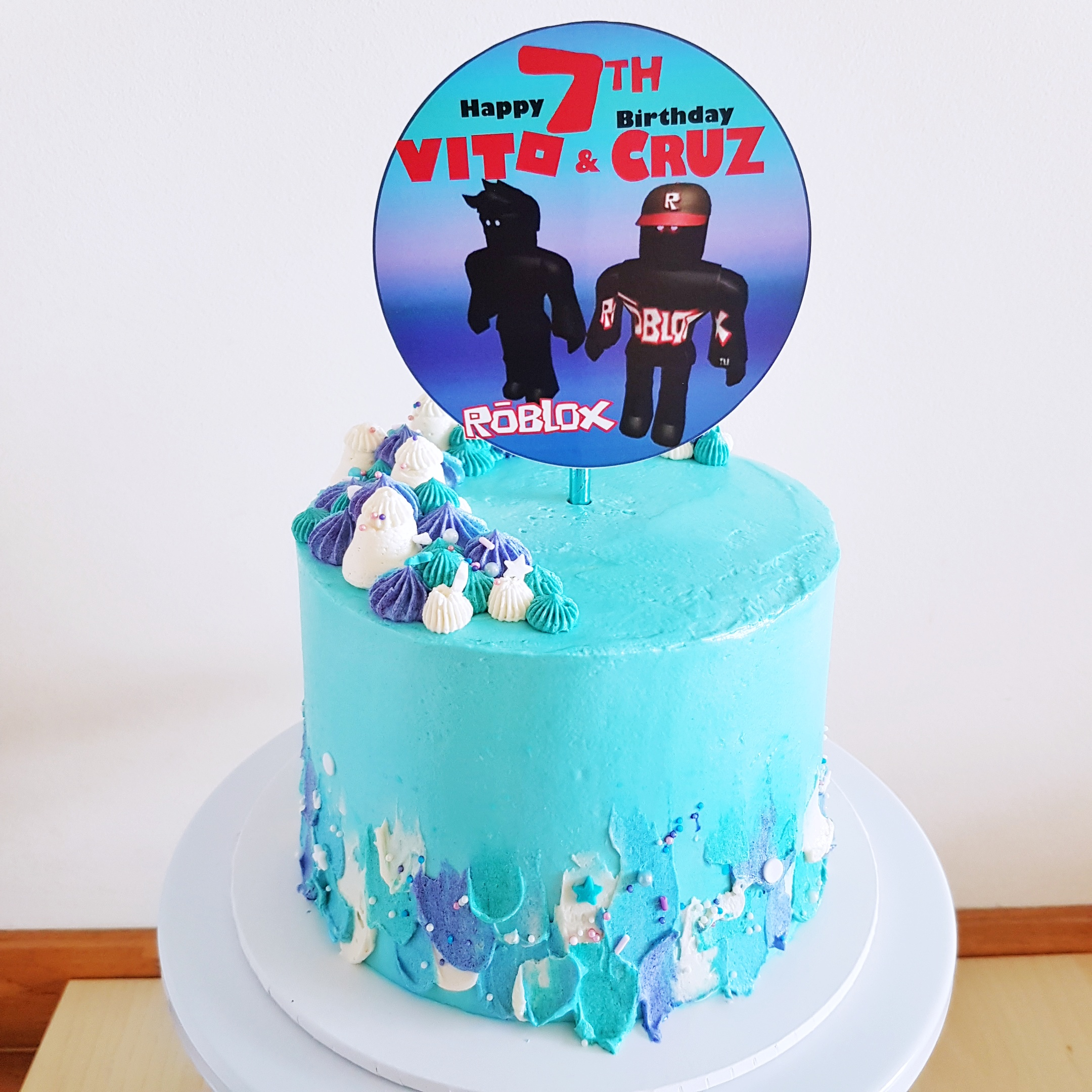 Roblox Cake by The Baking Experiment