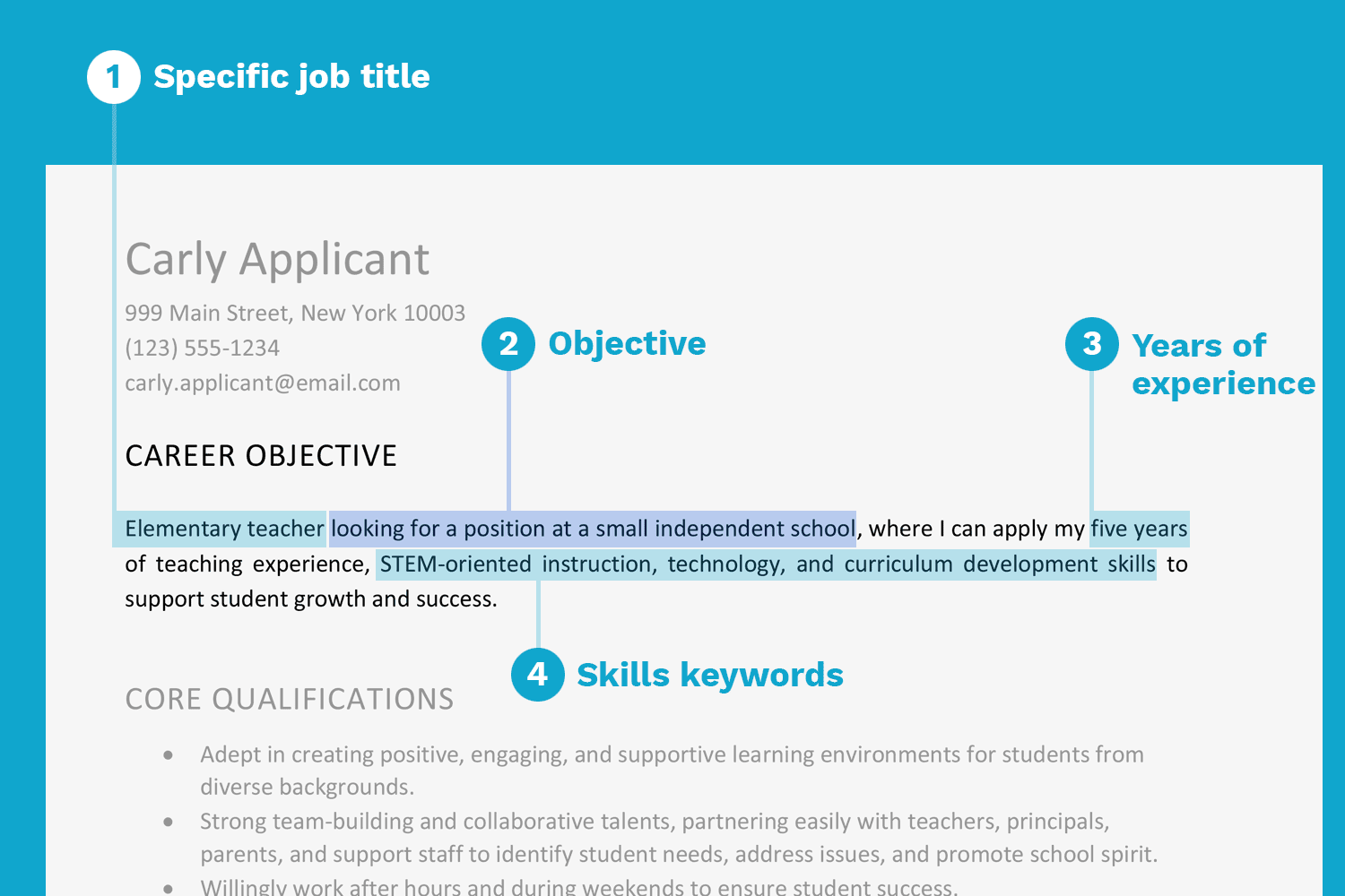 Search Engine Optimization Resume Examples Resume Objective Examples And Writing Tips