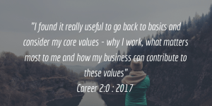 Career 2.0 Quote from Client