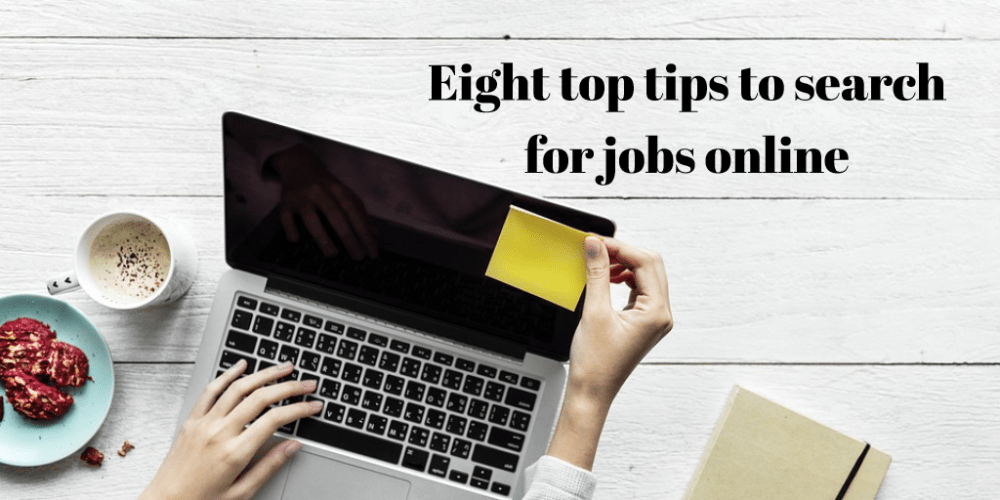 Eight simple ways to search for jobs online