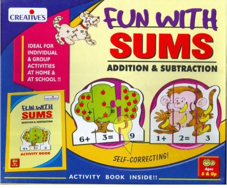 Fun with Sums Addition & Subtraction – Kids Maths Game