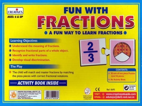 FUN with FRACTIONS – Kids Maths game