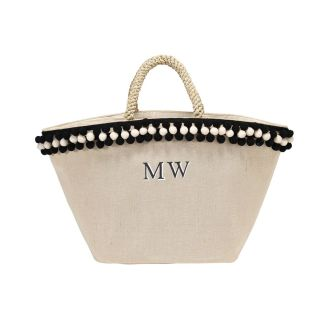 http://www.raefeather.com/pi-ata-monogram-basket-shopper-black-ivory