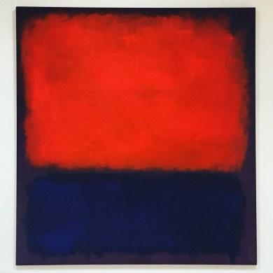 Rothko No. 14, 1960. At the new SFMOMA.
