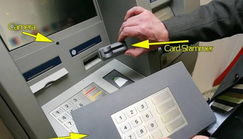 bank card skimmer