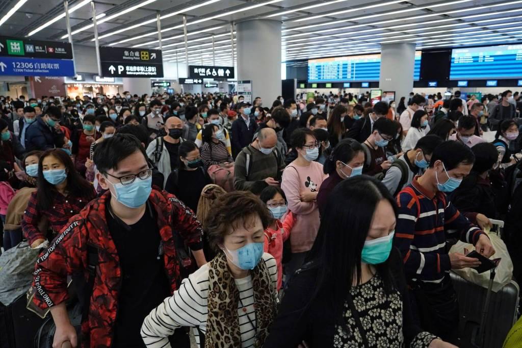 bali travel lines coronavirus