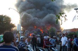 fire in denpasar