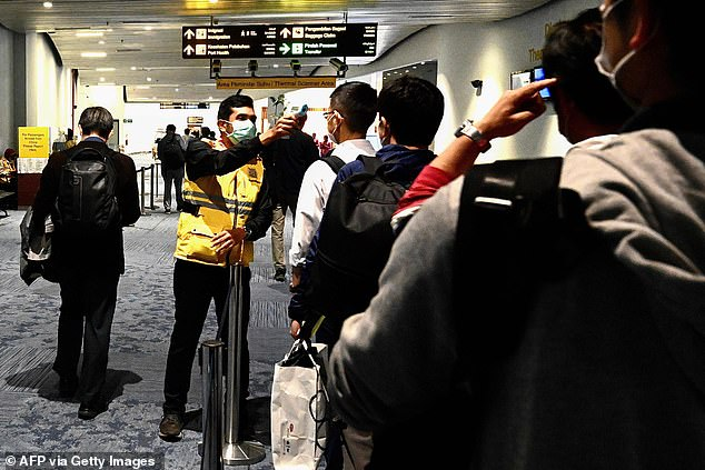 bali airport extra health screening