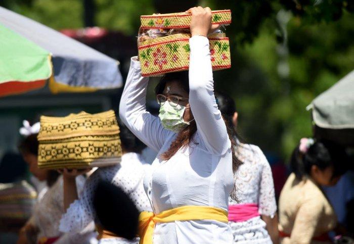 coronavirus bali must wear masks
