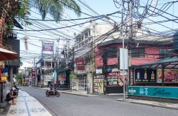 Bali resembles a ghost town after all tourists were banned from entering Indonesia due to coronavirus