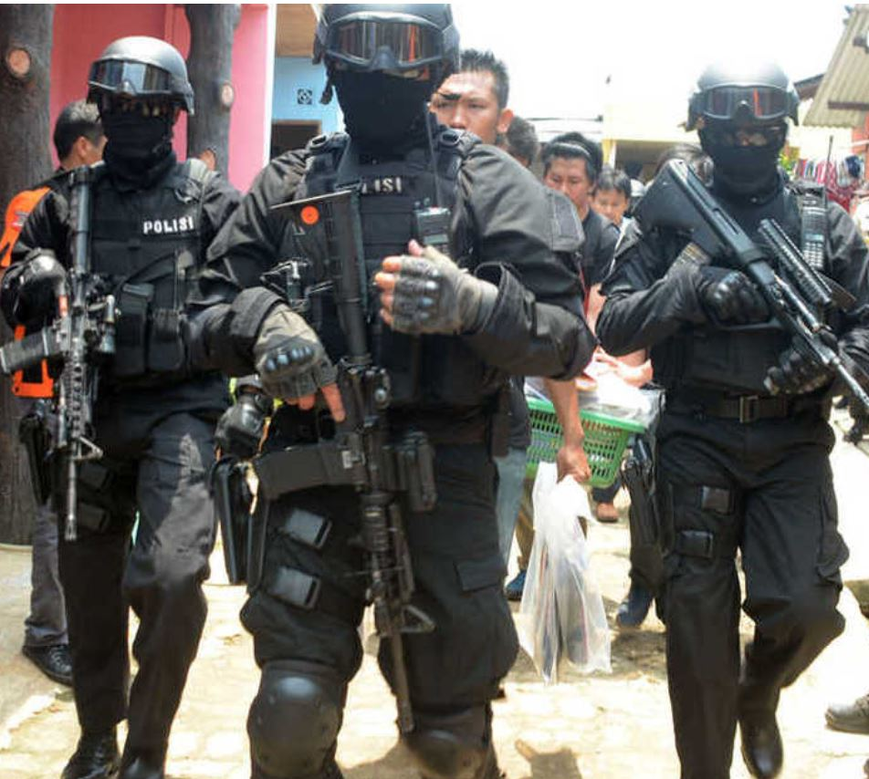 bali task force police officers