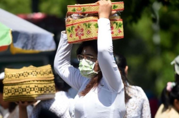 must wear face mask bali