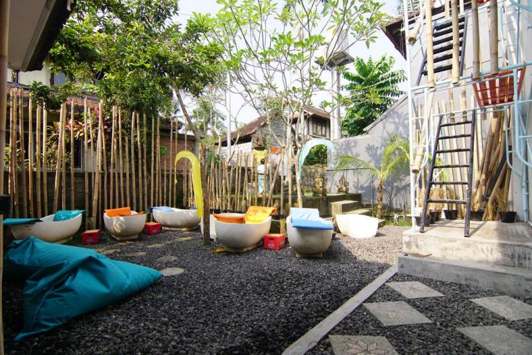NamaStay in Bali is a hostel under $10 a night