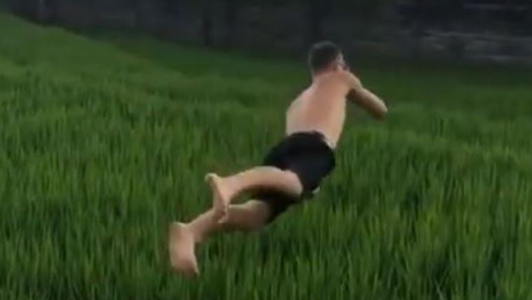 Video Foreigner In Bali Damages Rice Field For TikTok Fame While Locals Struggle To Eat