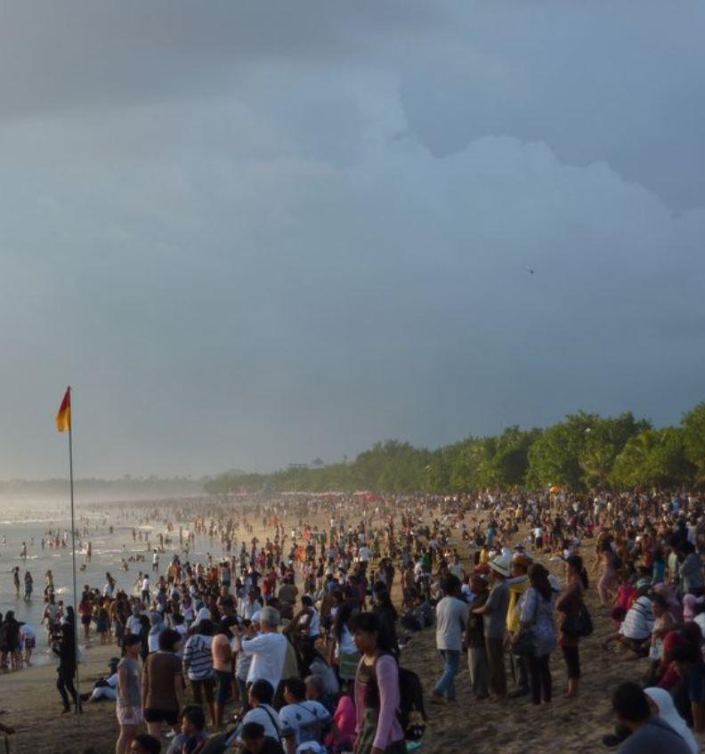 mass tourism in bali
