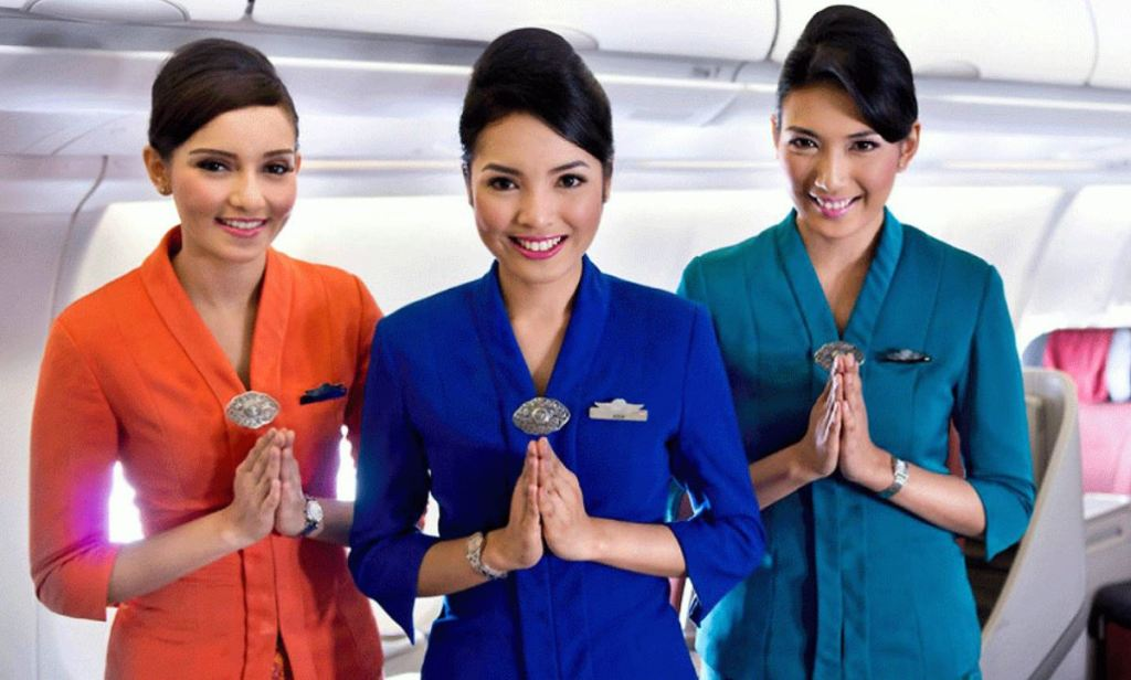 Garuda Airlines To Drop Face Masks After Passengers Complain They Can't See Attendant's Smiles