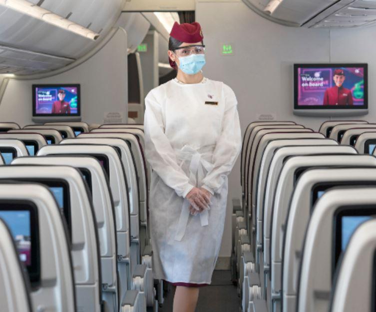 Qatar airways ppe