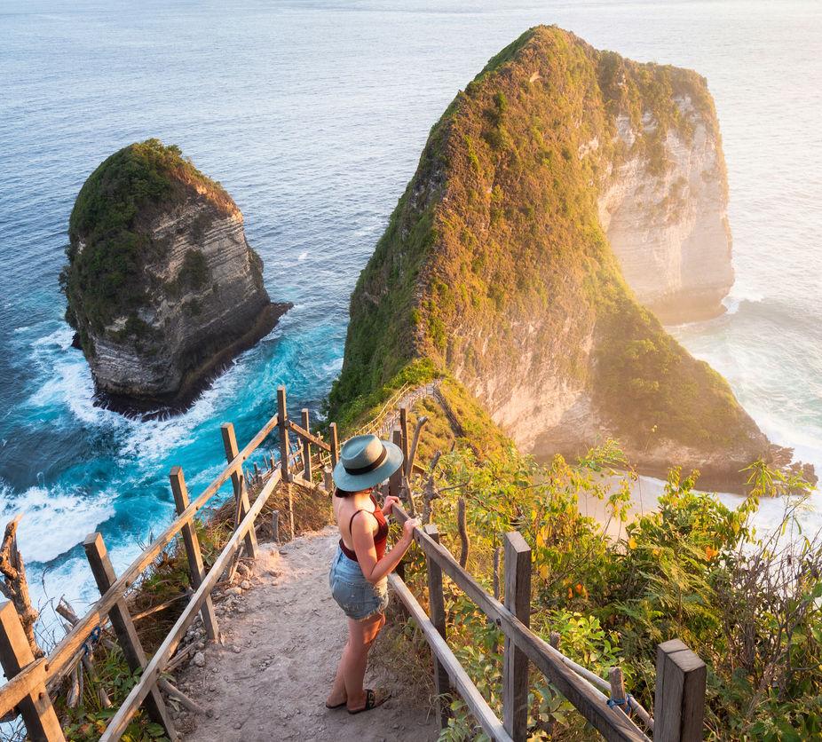 Bali domestic tourist nusa pendia