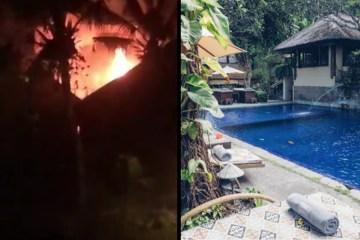 Fire Destroys 2 Hotels Buildings In Canggu Bali