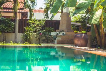Sport Center In Bali Transforms Swimming Pool Into Fish Farm