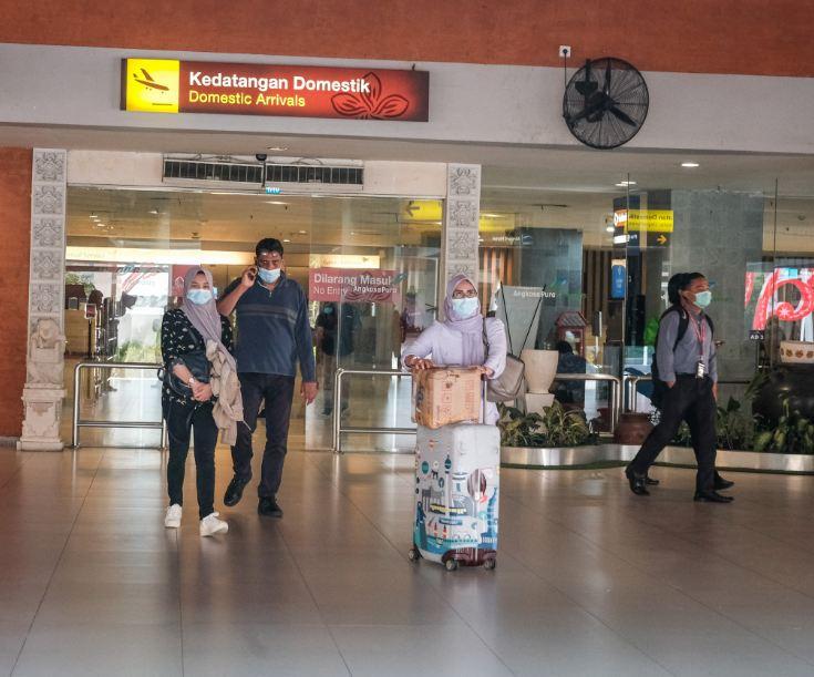 domestic arrivals in Bali