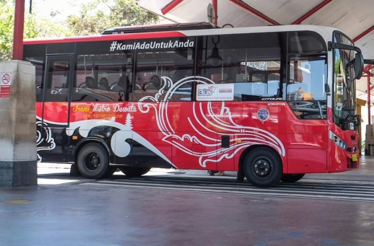 Gianyar Transportation Launches New Denpasar - Ubud Bus Route