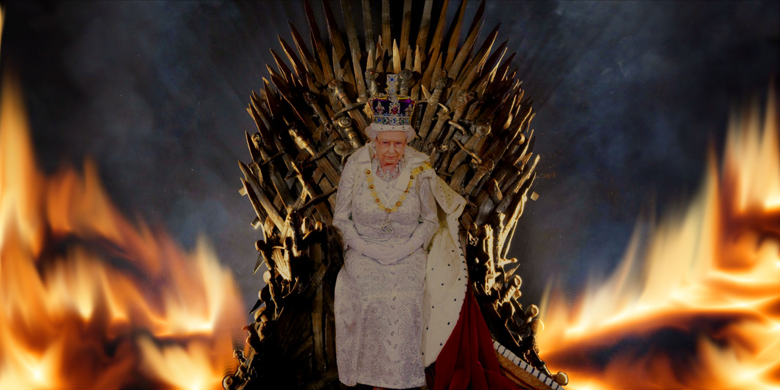 Queen Elizabeth on the Iron Throne  The Ballads Of Irving